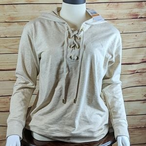 NWT Michael Kors Size Small Hooded Sweater